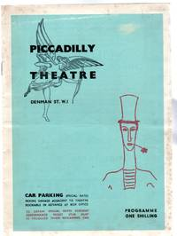 Marcel Marceau - Theatre Programme - The Piccadilly Theatre 1962