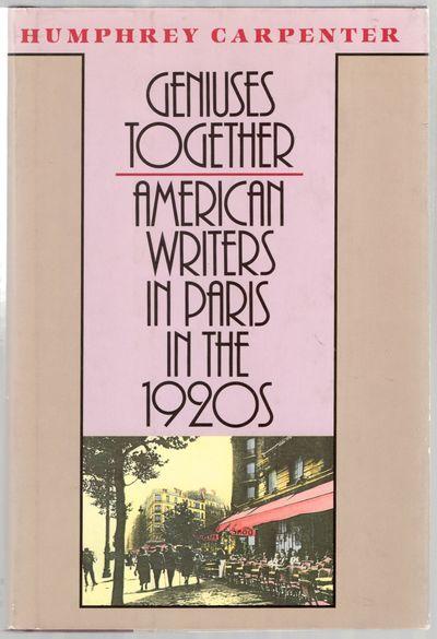 Boston: Houghton Mifflin Company, 1988. Hardcover. Fine/Near Fine. First American edition. Fine in p...
