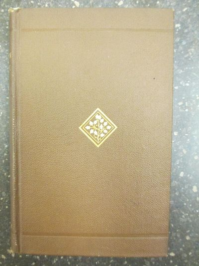 Boston: Geo. H. Ellis, 1883. First Edition. Hardcover. Octavo, 160 pages; VG-; bound in brown cloth,...