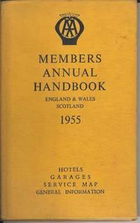 AA Members Annual Handbook England & Wales Scotland 1955