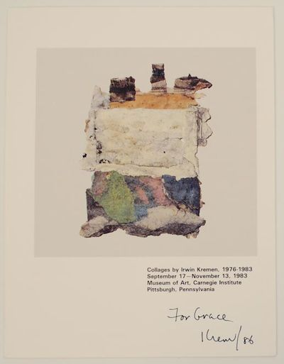 Pittsburgh, PA: Museum of Art, Carnegie Institute, 1986. First edition. Exhibition brochure for a sh...