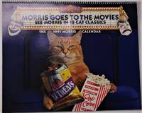 "image of ""Morris Goes to the Movies"" 1991 MORRIS ( the Cat ) Calendar"