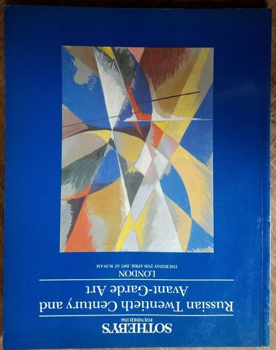 London: Sotheby's, 1987. VG. Blue glossy color illustrated wraps. 129 pp + index to artists. Profuse...