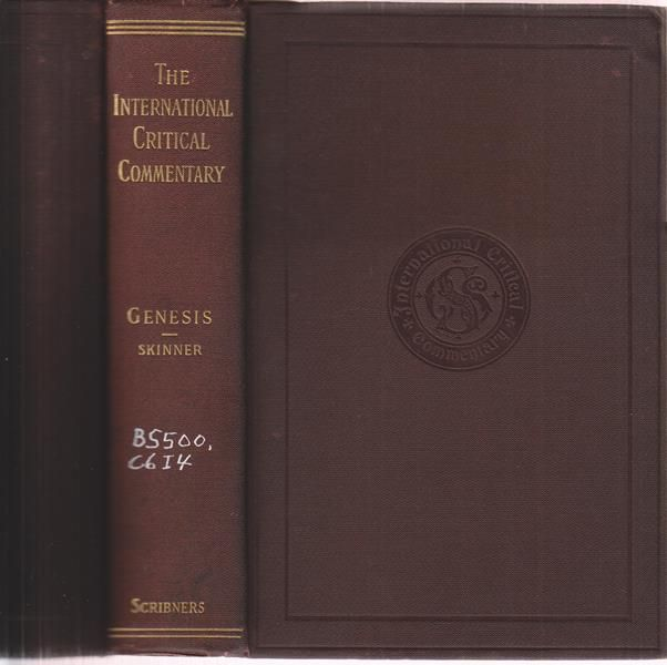 exegetical analysis on book of genesis Most scholars today agree that genesis 1:1––2:4a constitutes one creation   commentary on the old testament: the book of genesis, chapters 1-17  new  international dictionary of old testament theology & exegesis,.