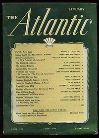 Atlantic Monthly: January 1941