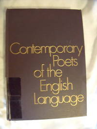 Contemporary Poets of the English Language