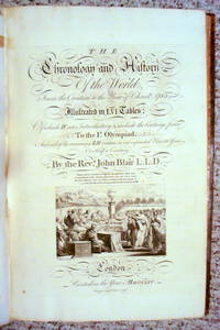 THE CHRONOLOGY AND HISTORY OF THE WORLD FROM THE CREATION TO THE YEAR OF CHRIST, 1753; ILLUSTRATED IN LVI TABLES...