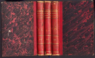 Paris: Joseph de Boffe, 1827. First Edition. Hardcover (Half Leather). Good Condition. 3 volumes in ...