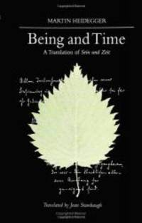 Being and Time: A Translation of Sein und Zeit (SUNY series in Contemporary Continental Philosophy)