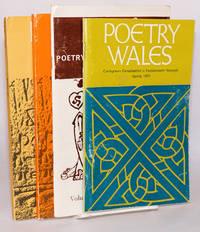 image of Poetry Wales; Cylchgrawn cenedlaethol o farddoniaeth newydd. Vol 2 no 3; v 6 n 4; v 7 nos 1, 2 [four unduplicated issues]