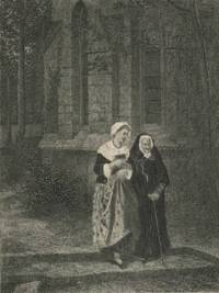 image of Youth and Age Engraving from Gallery of Famous Painters