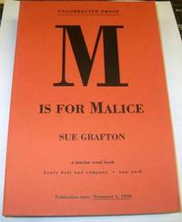 image of M is for Malice by Grafton, Sue