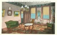 Gen Grant's Parlor, Galena, Illinois 1910s-1920s unused Postcard