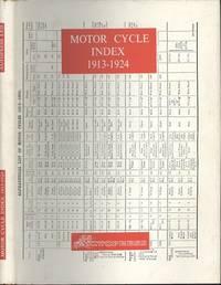 Motor Cycle Index 1913-1924 (1964 Reprint)