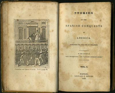 Boston: Leonard C. Bowles, 1830. First edition. Original quarter calf over yellow paper covered boar...