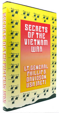 SECRETS OF THE VIETNAM WAR by Phillip B. Davidson - First Edition; First Printing - 1990 - from Rare Book Cellar (SKU: 123167)