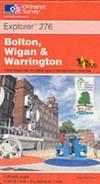 image of Bolton, Wigan and Warrington (Explorer Maps)