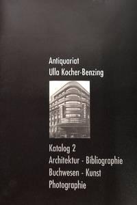 Catalogue 2/n.d. : Architektur, Bibliographie, Buchwesen, Kunst,  Photographie.
