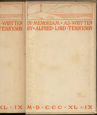 IN MEMORIAM AS WRITTEN BY ALFRED LORD TENNYSON MDCCCXLIX