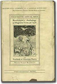 Anthology of Magazine Verse for 1926 and Yearbook of American Poetry (Sesqui-Centennial Edition)