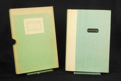 New York: Macmillan and Co., Limited, 1928. Limited Edition. Hardcover. Fine/good +. No. 38 of 500 c...