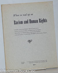 image of Where to read up on racism and human rights