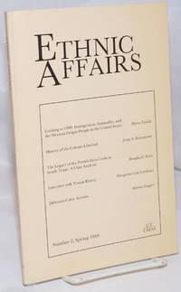 Ethnic Affairs: Number 2, Spring 1988