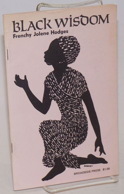 Detroit: Broadside Press, 1971. 30p., 5.5x8.5 inches, very good first edition poetry chapbook in pin...