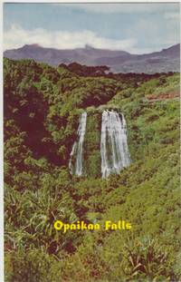 Opaikaa Falls, Wailua, Kauai, Hawaii, unused Postcard