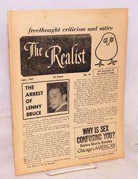 The realist [no.41]; freethought criticism and satire, the magazine of the lunatic fringe.  June 1963