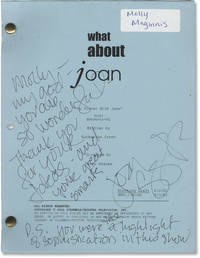What About Joan: My Dinner With Jake (Original screenplay for the 2001 television episode, signed by cast and crew) by  Jessica Hecht (starring); Terry Hughes (director); Katherine Green (screenwriter)  Donna Murphy - Signed - 2001 - from Royal Books, Inc. (SKU: 149058)