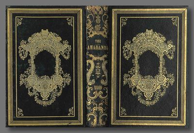 Worcester: Published by E. Livermore, 1849. vi,,-322pp. Octavo. Publisher's black calf, the boards d...