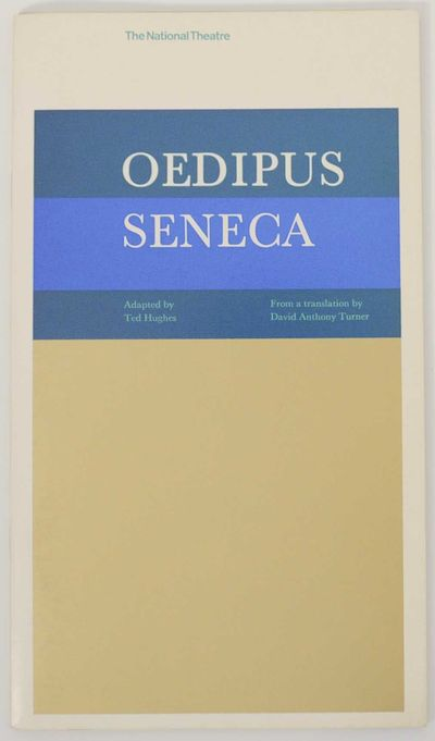 London: The National Theatre, 1967. Softcover. Program for Ted Hughes' adaptation of Seneca's traged...
