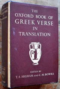 image of The Oxford Book Of Greek Verse In Translation