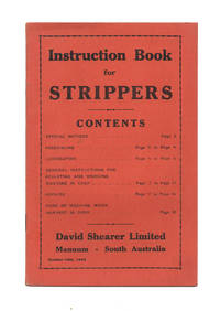 Instruction Book for Strippers
