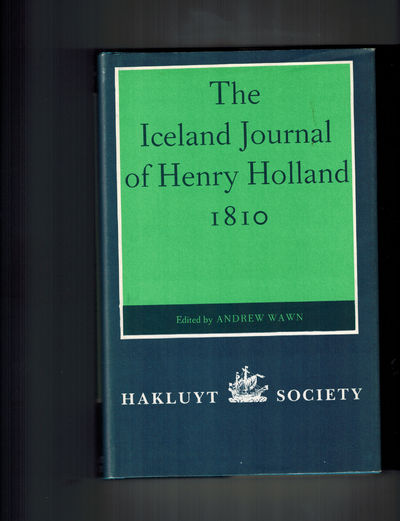 London: Hakluyt Society, 1987. Fine in an ever-so-lightly rubbed Near Fine dust jacket. . First Thus...