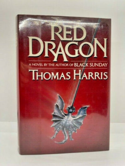 SIGNED FIRST EDITION of RED DRAGON...