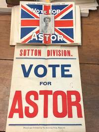 An original scrapbook compiled by a follower of Nancy Astor, the first female Member of Parliament to take her seat in the United Kingdom. Materials within dated 1934-1936