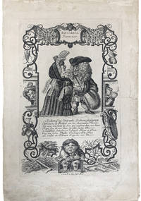 GERMAN BAROQUE FASCINATION WITH DWARFS  COMES TO 18TH CENTURY FRANCE: A SUITE OF 12 SATIRICAL ENGRAVINGS  WITH SATIRICAL VERSES IN FRENCH[The Twelve Months]