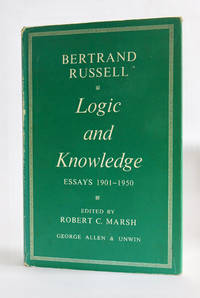 Logic and Knowledge Essays 1901-1950