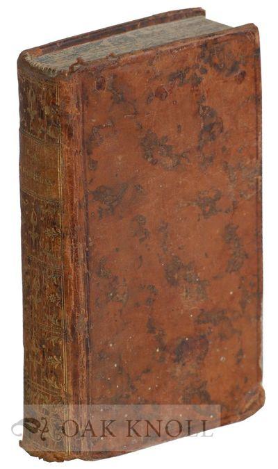 Paris, France: Desaint et Saillant, 1763. contemporary full leather, marbled endpapers and edges, sp...