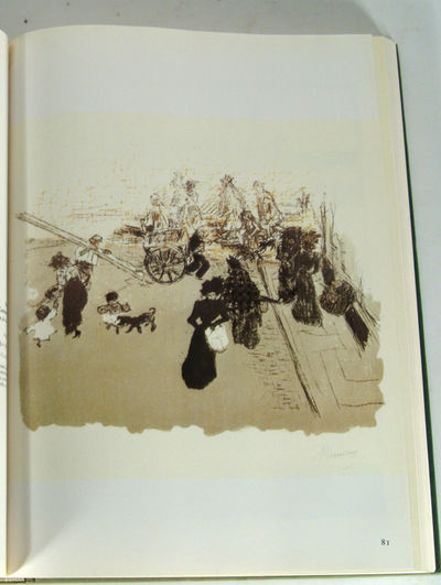 1981. BOUVET, Francis. BONNARD: THE COMPLETE GRAPHIC WORK. New York: Gallery Books (1981). 351 pp. 4...
