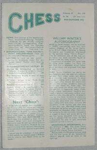 Chess: Mid-October 1962, Volume 27 No.418