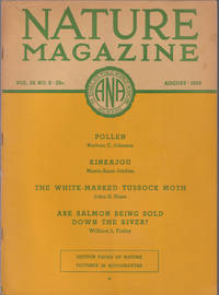 image of An Original Vintage Issue of Nature Magazine for August 1936
