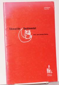 El Educación sentimental: lección inaugural, año académico 1990-91