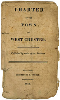 Charter of the Town of West Chester