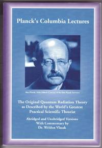 Planck's Columbia Lectures