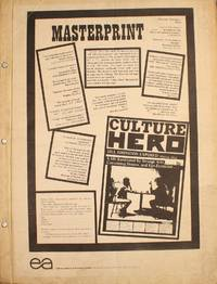 Culture Hero, Masterprint. Jill Johnston Exposed: Special Issue
