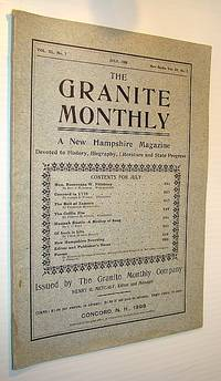 The Granite Monthly - A New Hampshire Magazine Devoted to History, Biography, Literature and State Progress, July, 1908, Vol XL, No. 7, New Series, Vol. III, No. 7 - Hon. Rosecrans W. Pillsbury