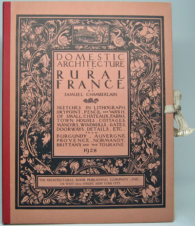 New York: The Architectural Book Publishing Company, Inc, 1928. Hardcover. Folio. Burgundy cloth spi...